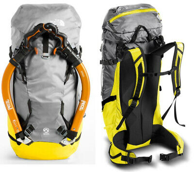 NWT The North Face TNF Summit Series Phantom 50 Backpack Climbing Pack Yellow