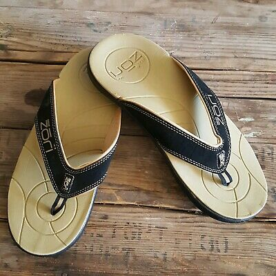 Neat Feat Unisex Zori Sport Orthotic Slip-On Sandals Flip Flop Size 11   11.25""