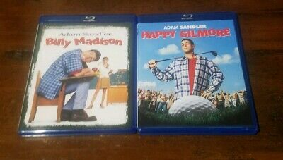 Billy Madison / Happy Gilmore Double Feature [Blu-ray], Adam Sandler