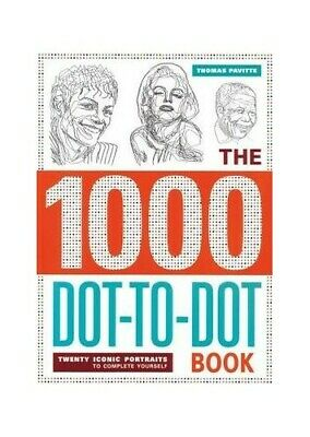 The 1,000 Dot-to-Dot Book - Twenty Iconic Portraits by Thomas Pavitte Book The