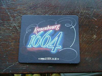 KRONENBOURG 1664 BEER MATS SEALED PACK x100 COASTERS NEW