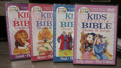 WONDER KIDS FAVORITE Bible Stories And Songs Ruth, Jesus And More