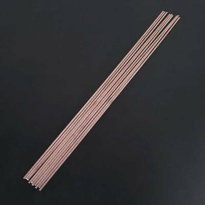 10pcs 3x1.3x400mm Low Flat Temperature Soldering Rods For Welding Repair Brazing