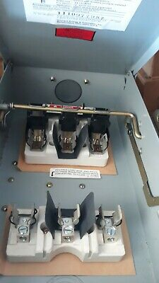 Siemens New Disconnect Switch Fr352 60Amp 600 Volt 3 Phase Type 3R Fusible Type