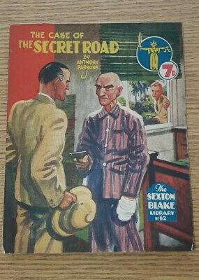 Sexton Blake Library 3rd Series No 62 comic magazine war crime thriller vintage