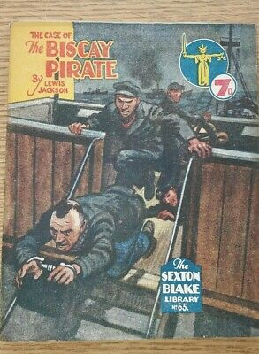 Sexton Blake Library 3rd Series No 65 comic magazine war crime thriller vintage