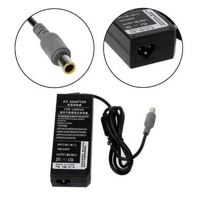 AC Adapter Charger Power Supply Cord For IBM ThinkPad Lenovo Laptop 20V 4.5A 90W