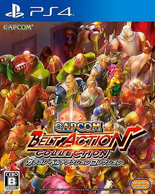 NEW PS4 Capcom Belt Action Collection JAPAN OFFICIAL IMPORT