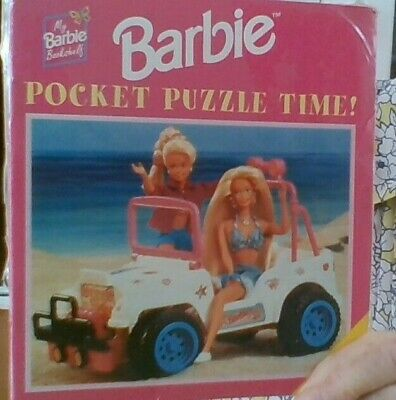 8 Barbie Pocket Puzzle Time Ideal For Holidays