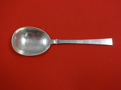 Bell by Hans Hansen Danish Denmark Sterling Silver Berry Spoon Large 9 1/2""