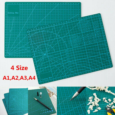 A1 A2 A3 A4 Craft Quilting Grid Lines Printed Self Healing Cutting Mat PVC Board
