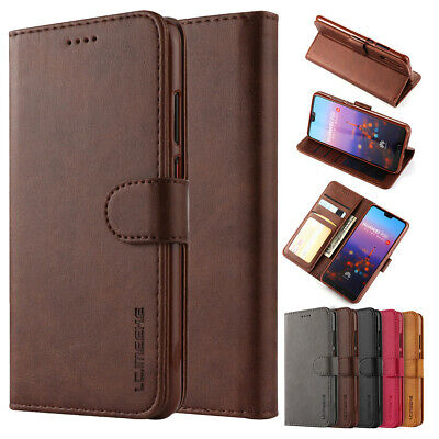 For Huawei P20/P30 Pro Lite Phone Case Luxury Leather Magnetic Flip Wallet Cover