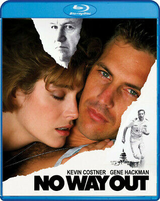 No Way Out (1987 Kevin Costner) BLU-RAY NEW