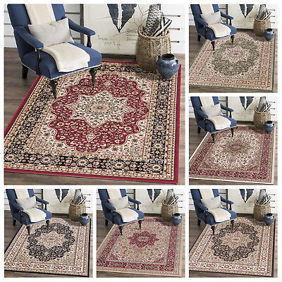 Traditional Persian Style Vintage Carpet Thick Rome Runner Anti Slip Area Rug