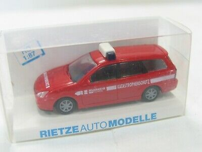 6034 Rietze 50981 Ford Focus t THW OVP 1:87 MW