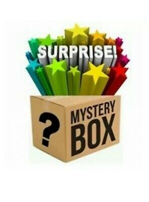Mystery box  New electronics, clothing, consoles, games, dvds Minimum 10 Items