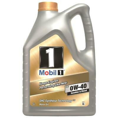 Mobil FS 0W40 153678 Engine oil Synthese Technology, Gold, 5 L