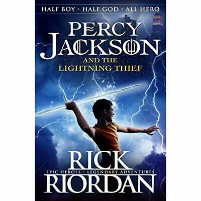 Percy Jackson and the Lightning Thief - Paperback NEW Rick Riordan 2013-07-04