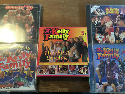 The Kelly Family [9 CD] First Singles + Christmas + Almost Heaven + Growin Up