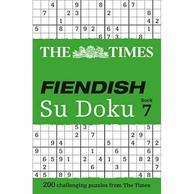 The Times Fiendish Su Doku Book 7 - Paperback NEW The Times Mind  2014-01-16