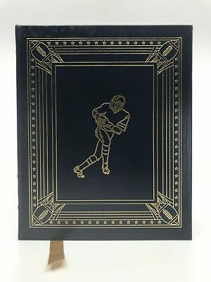Deluxe Leather Bound NFL National Football League Greats History Easton Press
