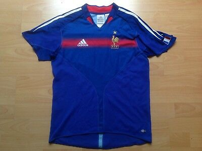 FFF FRANCE ADIDAS KIDS 14Ans 164 Maillot FOOTBALL Jersey COLLECTOR !