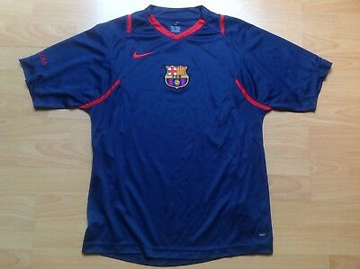 Barca BARCELONA NIKE S Maillot FOOTBALL Jersey COLLECTOR !