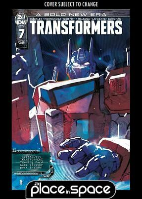 Transformers (2019) #7A (Polybagged With Trading Card Pack) (Wk24)