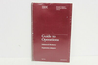 Ibm Enhanced Memory Expansion Adapter Guide To Operations 74X7715 New