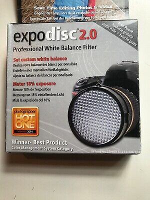 ExpoDisc 2.0 - 82mm (Expo Disc) White Balance Filter