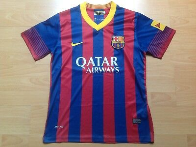 Barca BARCELONA NIKE M Maillot FOOTBALL Jersey COLLECTOR !