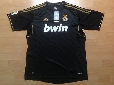 REAL MADRID CHARLY ADIDAS L Maillot FOOTBALL Jersey COLLECTOR !