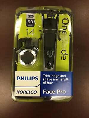 Philips Norelco Oneblade Face Pro Hybrid Electric Trimmer & Shaver