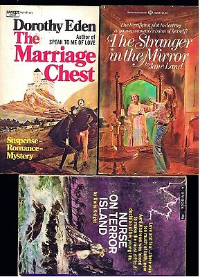 Vintage Gothic Horror Romance Lot ~ Fear Of A Stranger  + 4 ~ Ex Cond