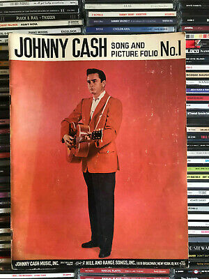 Johnny Cash Song And Picture Folio No. 1  -  Sheet Music Booklet