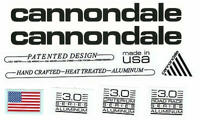 d0722ff7fbb 1990 Vintage Cannondale Decal 3.0 (Mountain, Road Race and Criterium) Series