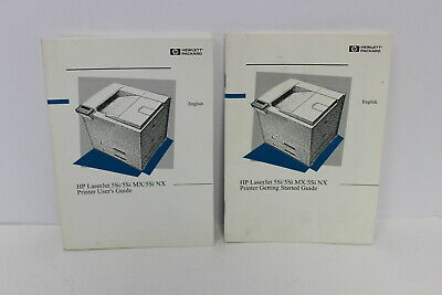 Hp Laserjet 5Si/5Si Mx/5Si Nx Printer User's Guide & Getting Started Guide