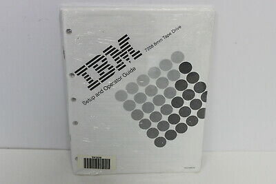 Ibm 7208 8Mm Tape Drive Setup And Operator Guide 59F3236 59F3068 New