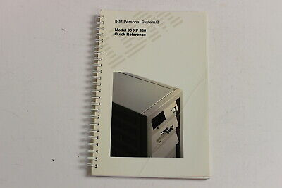 Ibm Ps/2 Model 95 Xp 486 Quick Reference Manual 42F2108 8595