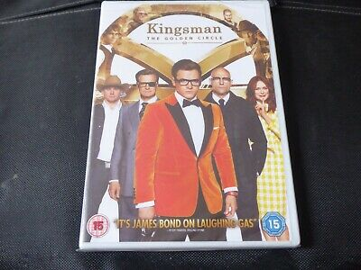 Kingsman - The Golden Circle (SEALED NEW DVD 2017) 2 COLIN FIRTH HALLE BERRY