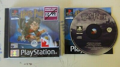 Harry Potter and The Philosopher's Stone Playstation One PS1 PAL Complete