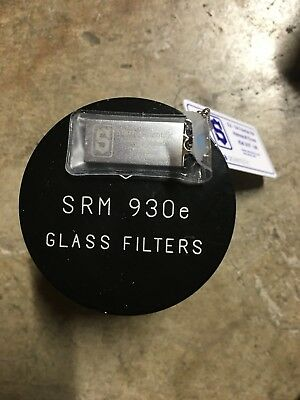 Shimadzu SRM 930e Starna Neutral Density Glass Filters Absorbance Linearity VIS