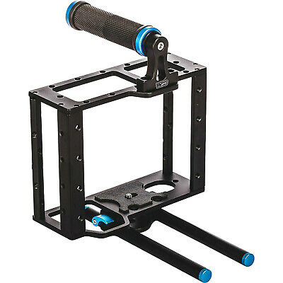 Vidpro CA-L Aluminum DLSR/Mirrorless Camera Video Cage Rig