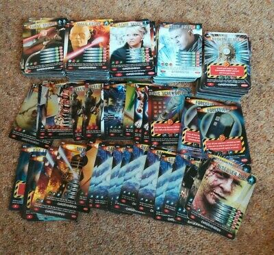 Job Lot of 284 Doctor Who Battles in Time EXTERMINATOR Cards Dr BBC Bundle