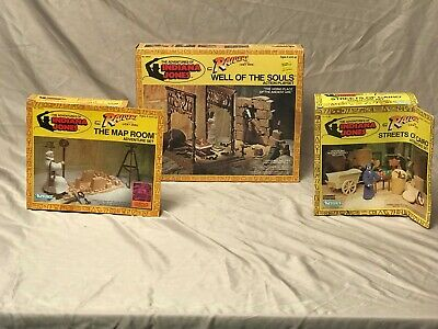 Indiana Jones / Raiders of the Lost Ark - All 3 of the Playsets -1982