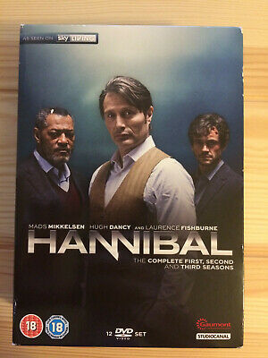 HANNIBAL - Seasons 1-3 (DVD) Excellent condition - watched once