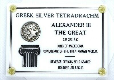 Greek Silver Tetradrachm Alexander III The Great 336-323 B.C. - VF-XF
