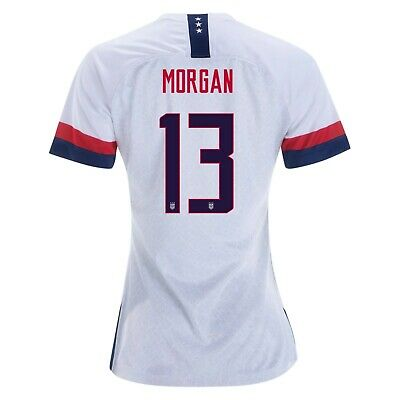 Alex Morgan #13 USA WOMENS White 2019 World Cup SOCCER JERSEY