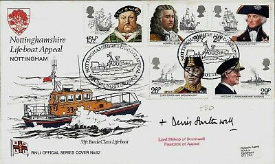 RNLI GB FDC COMMEMORATIVE SERIES 51 to 100 PLAIN CARRIED SIGNED SPECIAL EDITIONS