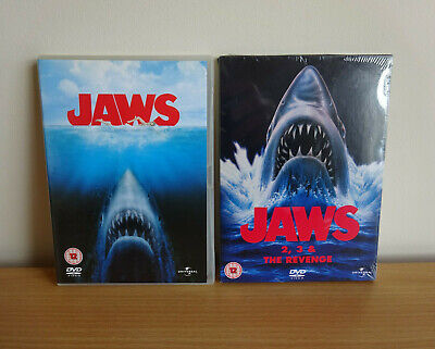 JAWS Complete Movie Collection DVD 1 2 3 4 (Revenge) 4 Disc Set New Other